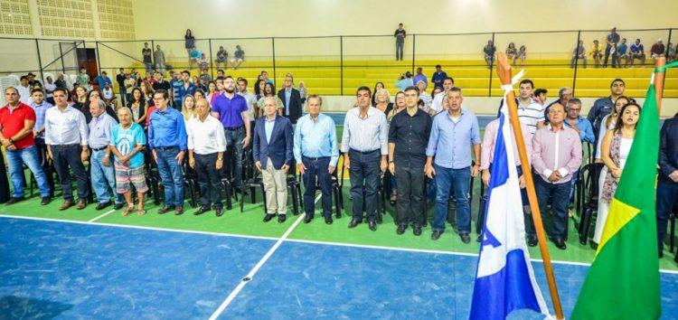 Governador inaugura a Quadra Poliesportiva Idílio Checon em Iconha