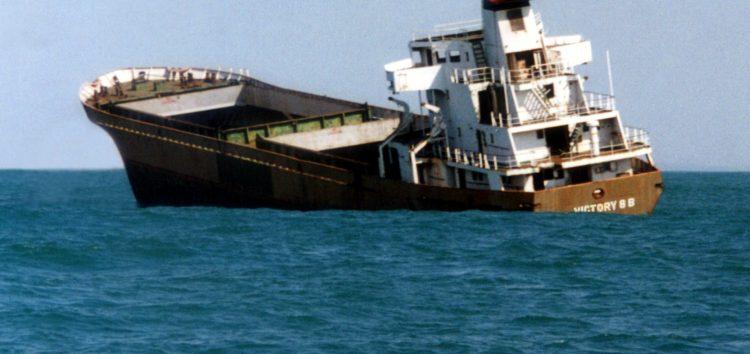 Afundamento do Victory 8B completa 15 anos em Guarapari