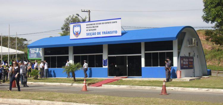 Guarapari reforça o policiamento com a inauguração da nova Seção de Trânsito