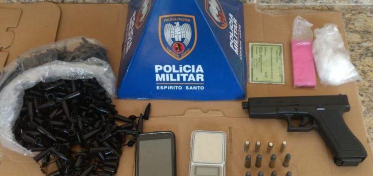 PM detém jovem com bicicleta e celular roubados em Guarapari
