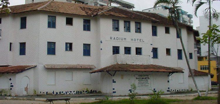 Setur convoca consulta pública sobre utilização do Radium Hotel em Guarapari