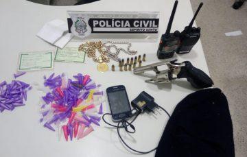 Líderes do tráfico de drogas do Adalberto são presos em Guarapari