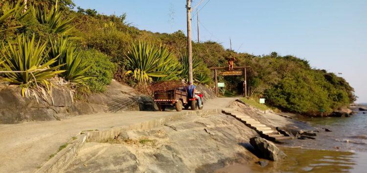 Mais uma vez adiada, a instalação do píer deve acontecer ainda esse mês em Guarapari