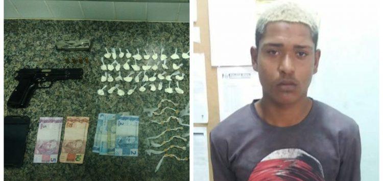 Dois homens presos, armas e drogas encontradas durante patrulhamento da PM em Guarapari