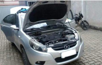 PM de Alfredo Chaves apreende menor em carro roubado