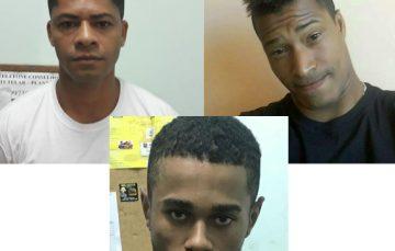 Três pessoas são detidas no mesmo dia em Guarapari