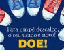 Campanha incentiva doação de tênis em Guarapari