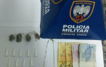 Adolescente apreendido por tráfico de drogas em Guarapari