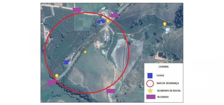 BR-101 em Iconha será bloqueada nesta quinta-feira (12) para a detonação de rocha