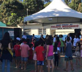 Bairro Perocão, em Guarapari, recebe projeto social da Igreja Metodista