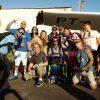 Sonho realizado: Oliver Beat salta de paraquedas em Guarapari