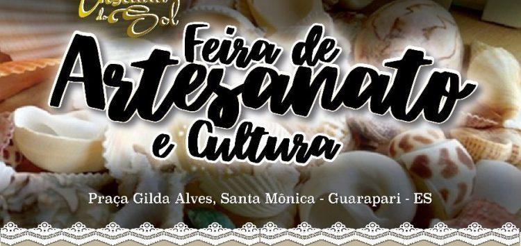 Cultura e diversão na 1ª Feira de Artesanato da Enseada do Sol, em Guarapari