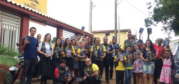 Grupo de motociclistas convoca doadores de sangue em Guarapari