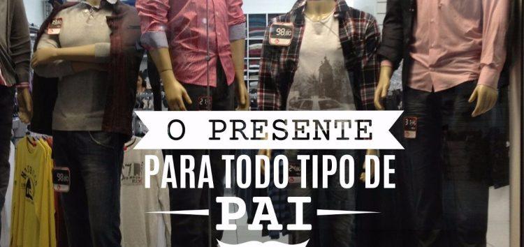 Dia dos Pais deve aumentar vendas entre 8% e 9% no comércio de Guarapari