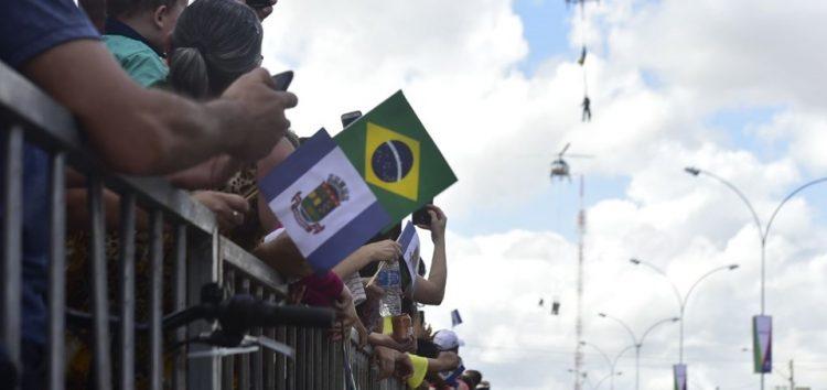7 de setembro: Pela primeira vez, Guarapari recebe tradicional desfile da Independência