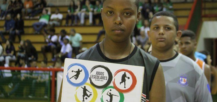 Categoria juvenil estreia nos Jogos Escolares 2018 em Guarapari