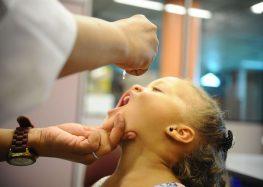 Campanha contra pólio e sarampo é prorrogada até dia 14 de setembro