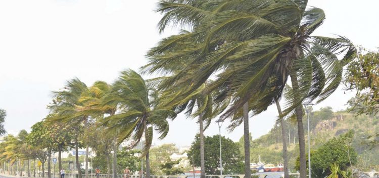 Ventos de até 60 km/h devem atingir o litoral Sul do ES até domingo