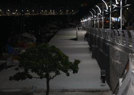 Inaugurada segunda etapa da nova orla do canal de Guarapari