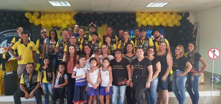 Grupo de Motociclistas encenam sobre educação no trânsito em escola de Guarapari