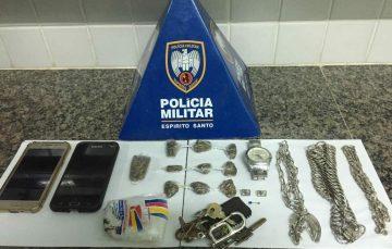 Domingo com três detidos por tráfico de drogas em Guarapari