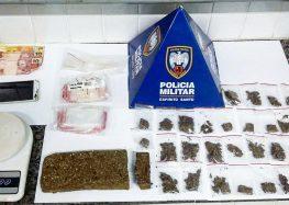 Menores e jovens detidos com drogas em Guarapari