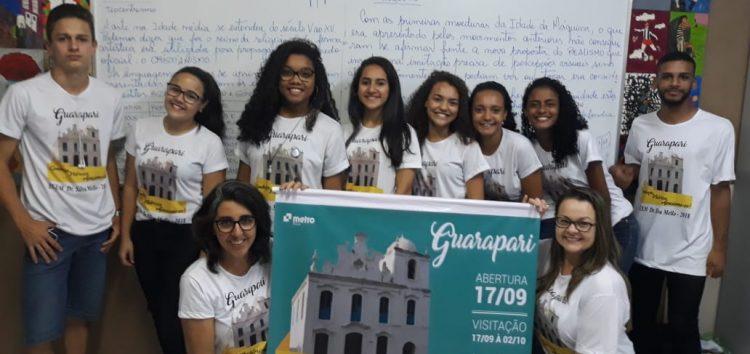 Alunos promovem a história de Guarapari através da exposição de fotografias