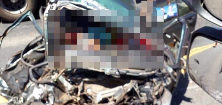 Duas pessoas morrem em grave acidente na BR 101 em Anchieta