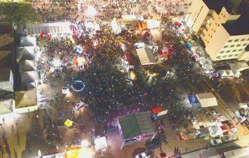 Artigo: Festival de festas em Guarapari