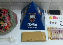 """Presos por tráfico de drogas no """"Buraco Quente"""" em Guarapari"""