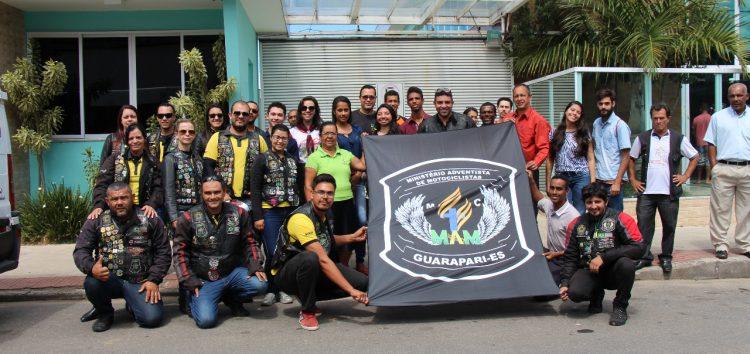 Clube de motociclistas de Guarapari faz campanha para doação de sangue em favor do HFA