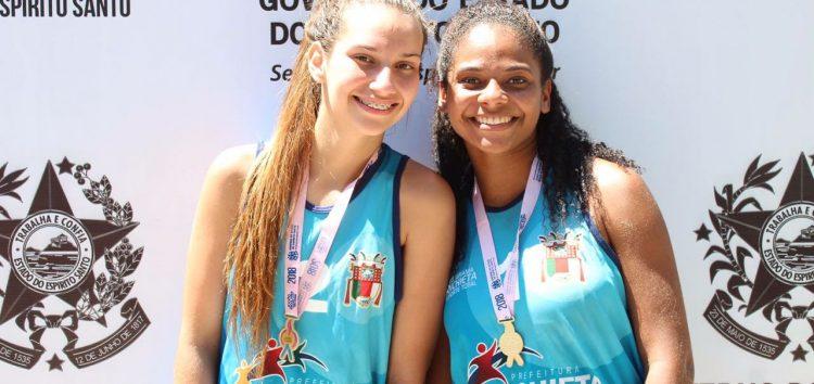Vôlei de praia de Anchieta é campeão dos Jogos Escolares 2018