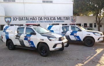 Força Tática de Guarapari recebe novas viaturas