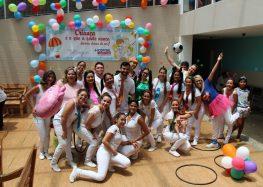 Pitágoras Guarapari realiza ação na semana especial da criança no HFA