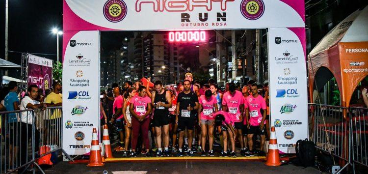 Night Run Outubro Rosa, o retorno das corridas de rua em Guarapari