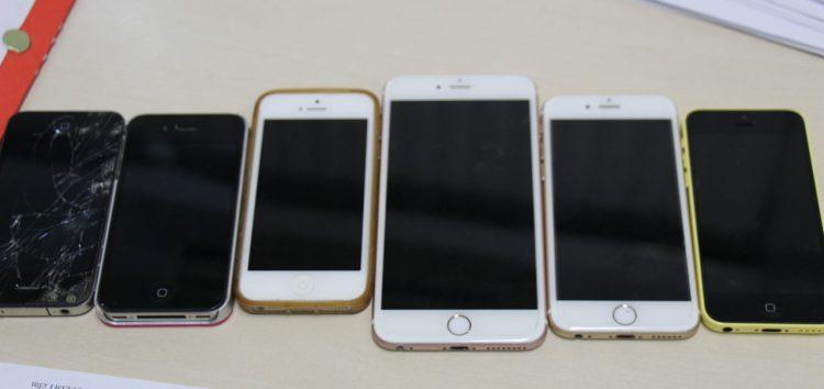 Cerca de 70% dos celulares roubados são recuperadas em Guarapari