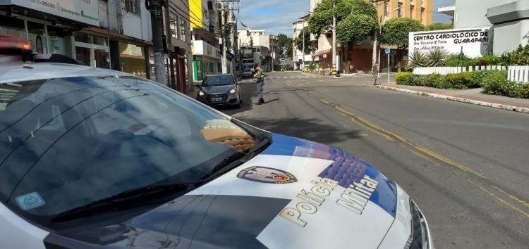 Dois suspeitos detidos com materiais ilícitos no Ipiranga em Guarapari