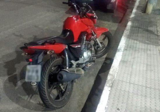 Polícia recupera moto furtada em Guarapari
