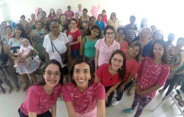 Anchieta realizou diversas ações de conscientização do Outubro Rosa