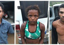 Polícia prende suspeitos de assalto a sítio em Guarapari