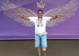 Após três medalhas de bronze, morador de Guarapari almeja vaga no Parapan-Americano