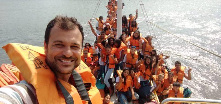 Alunos produzem documentário sobre o manguezal de Guarapari
