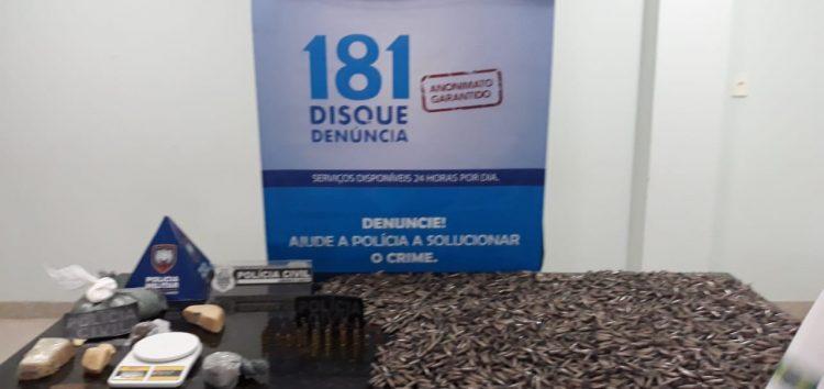 Operação resulta em uma das maiores quantidades de drogas apreendidas em Guarapari