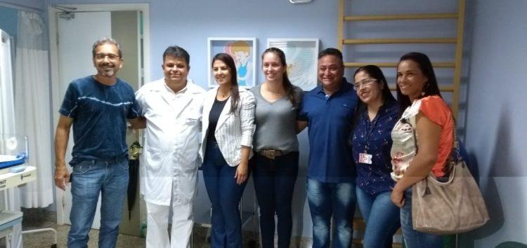 Vereadores visitam HFA e conversam com representantes da instituição em Guarapari