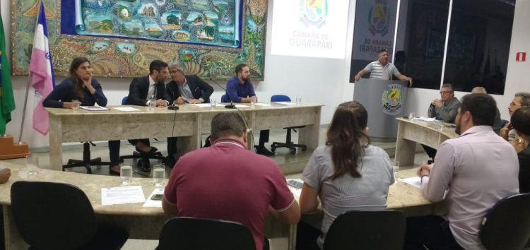 Vereadores aprovam reajuste no auxílio alimentação do funcionalismo público de Guarapari