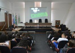 7ª Semana de Cinema contou com a participação de 400 alunos em Alfredo Chaves