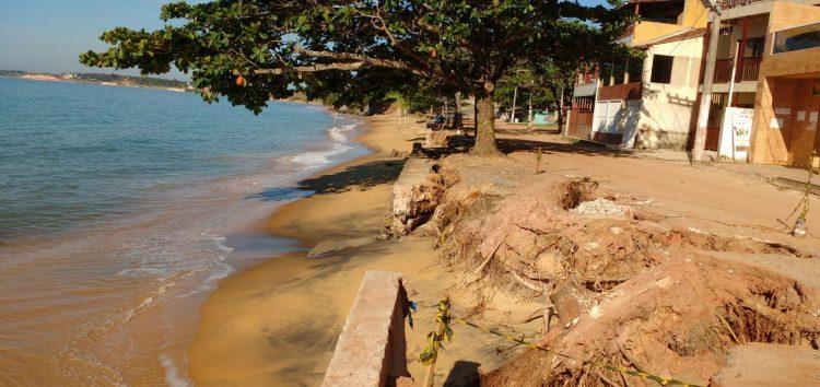 Prefeitura Guarapari assina ordem de serviço para obra do muro em Meaípe