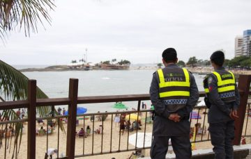 PM quase triplica efetivo das ruas durante Operação Verão 2018/2019 em Guarapari