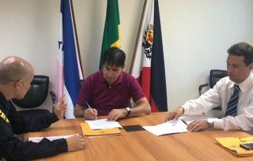 Após acordo, PRF constrói pátio para veículos apreendidos em Guarapari