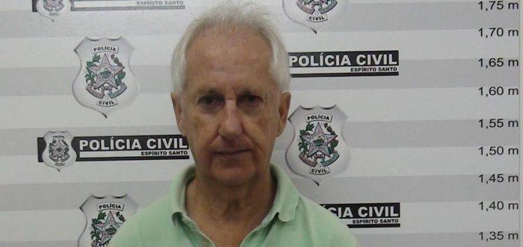 Suspeito de assassinar Gerson Camata confessa o crime e é transferido para presídio